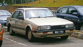 1987 Mazda 626 (GC) 1.8i 4-door sedan