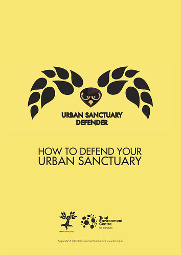 How to defend your urban sanctuary @angel4green