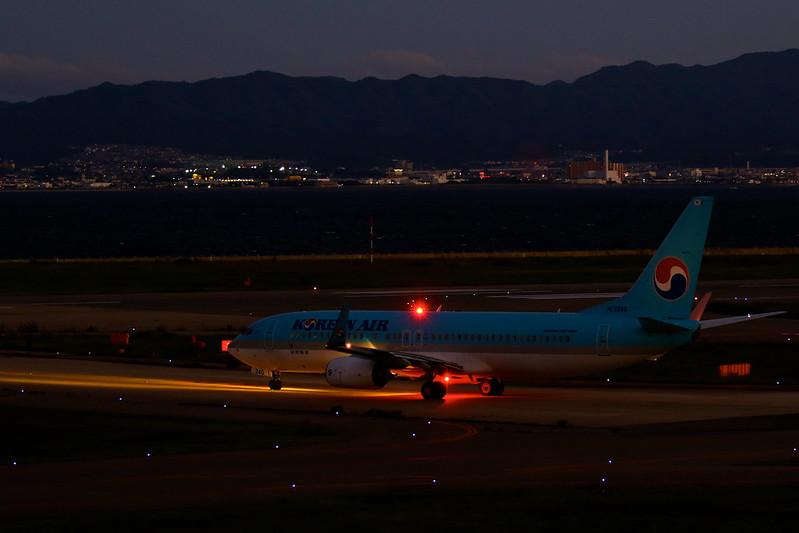 HL8240 Korean Air Lines Boeing 737-8BK(WL)