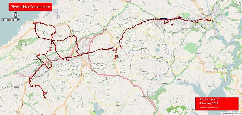 47 Troon - Camborne - Illogan - Redruth - Truro