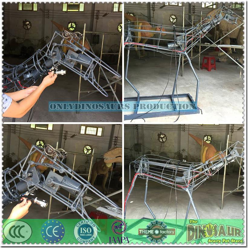Zebra Model's Metal Frame