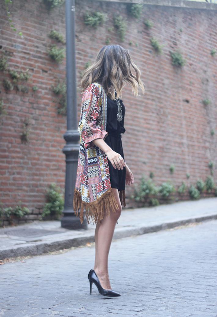 Kimono With Black Jumpsuit06