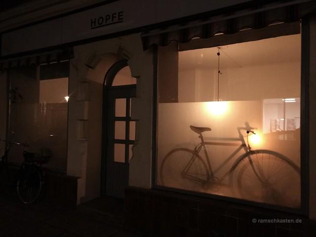 Fahrrad Nacht Fixi Deko Hopfe