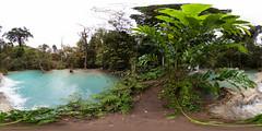 First pool at Kuang Si falls, Luang Prabang, Laos