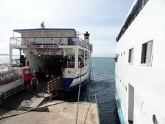 Rolling deck of M/V D' Asian Journey