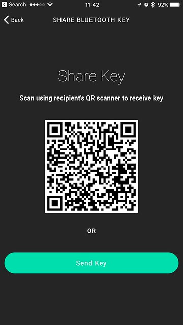 Igloohome iOS App - Share Bluetooth Key