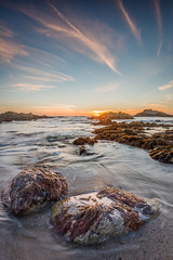 Sunset at Low Tide - Pacific Grove, CA