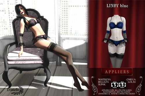 DANIELLE Lindy Blue Appliers And Classic