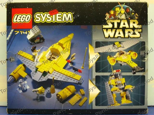 REVIEW: 7141 Naboo Starfighter - LEGO Star Wars - Eurobricks Forums