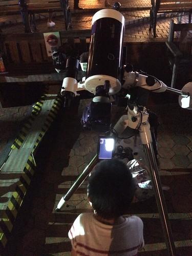 恵比寿ガーデンプレイスで天体観測 2015/7