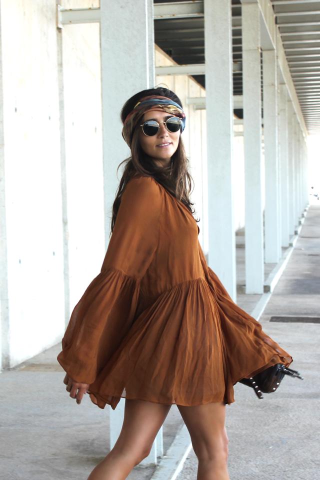 boho summer dress coohuco 5