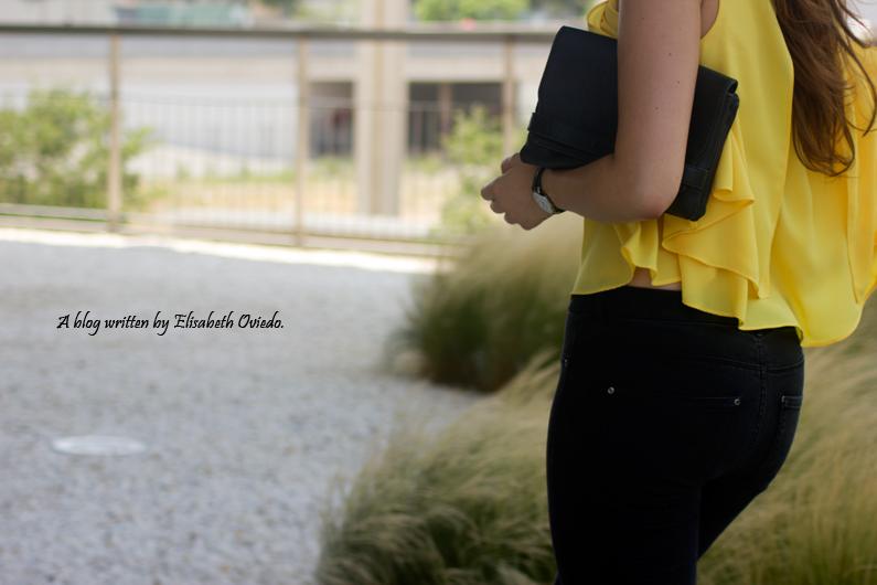 blusa amarilla zara leggings negros heelsandroses (6)