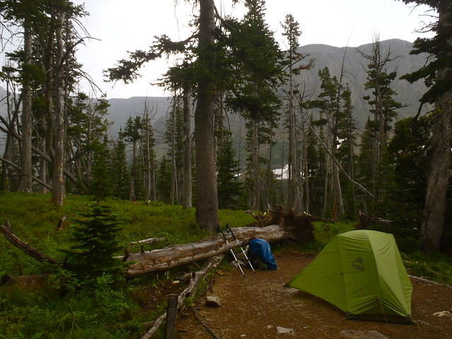 Oldman Lake Campsite