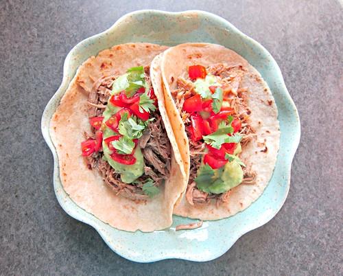 Jerked Sriracha Pork Tacos
