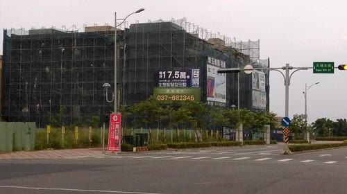 大埔炒房現況。照片提供:台灣農村陣線。