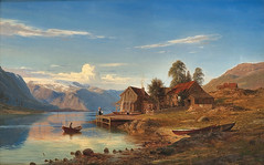 Amaldus Clarin Nielsen – private collection. Fra Rognaldsvåg i Kinn (1867)