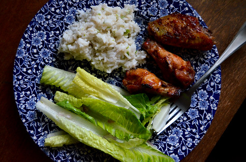 Vietnamese Chicken Wings with Lemongrass Brown Rice