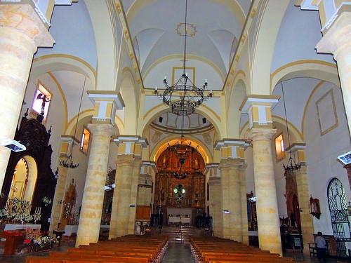 <Interior Iglesia San Sebastián> Cañete la Real (Málaga)