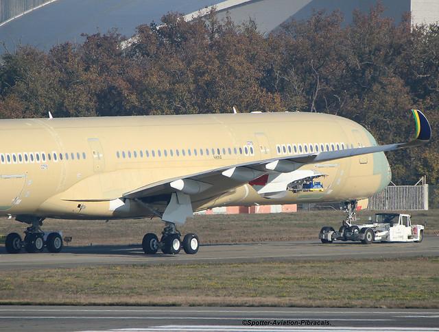 AZUL Linhas Aéreas Brasileiras. FIRST A350 FOR THE COMPANY.
