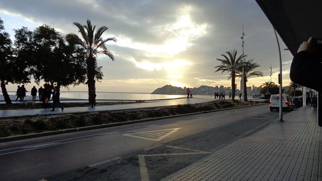 A Benidorm (pale) sunset, Sony DSC-H90