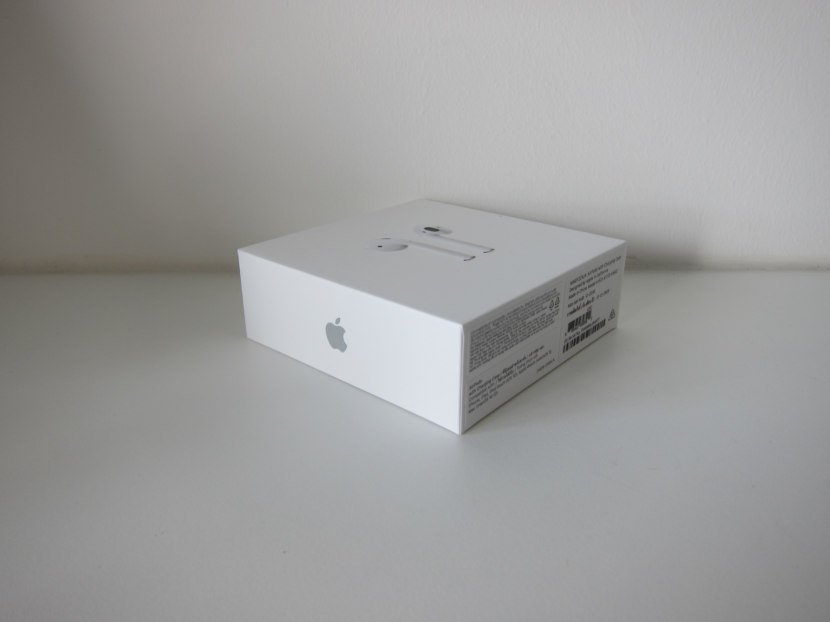 airpods box size in cm