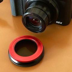 Canon PowerShot G5X + Magfilter Adapter 52mm
