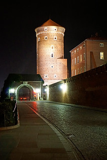 Image of Wawel Castle. auschwitz krakow poland globus sony a6300 ilce6300 18200mm 1650mm mirrorless free freepicture archer10 dennis jarvis dennisgjarvis dennisjarvis iamcanadian novascotia canada wawelcastle night walls tower gate