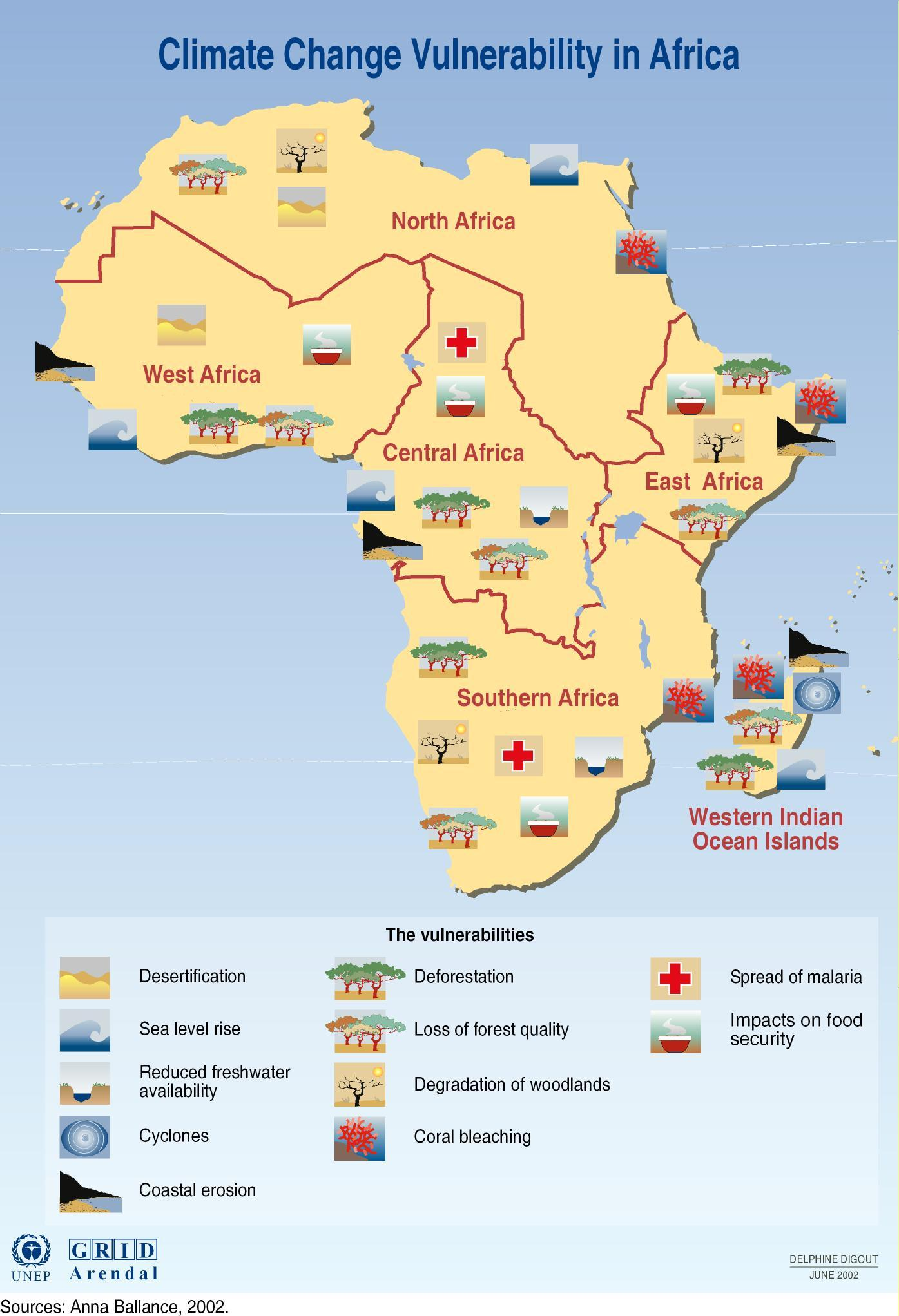 Climate change vulnerability in Africa | GRID Arendal
