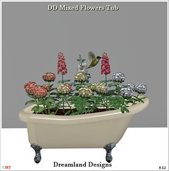 DD Mixed Flowers Tub Vendor
