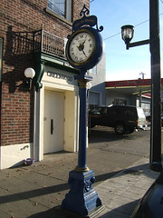 Greenwood Masons Street Clock