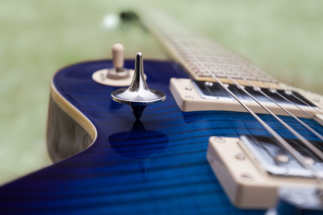 Photo:Stainless Steel Mirror Top on Epiphone Les Paul By johannesweber3