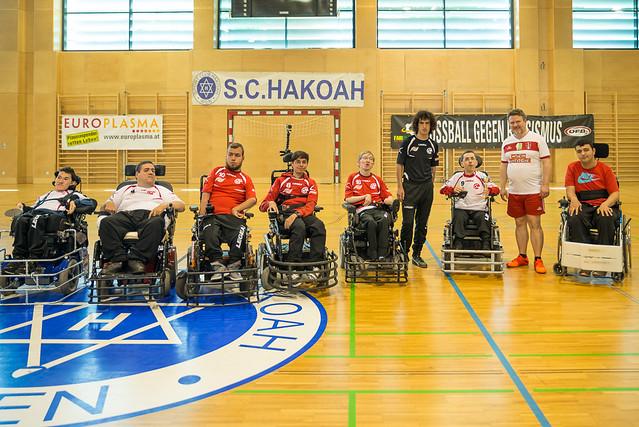 Demo-Match beim SC Hakoah