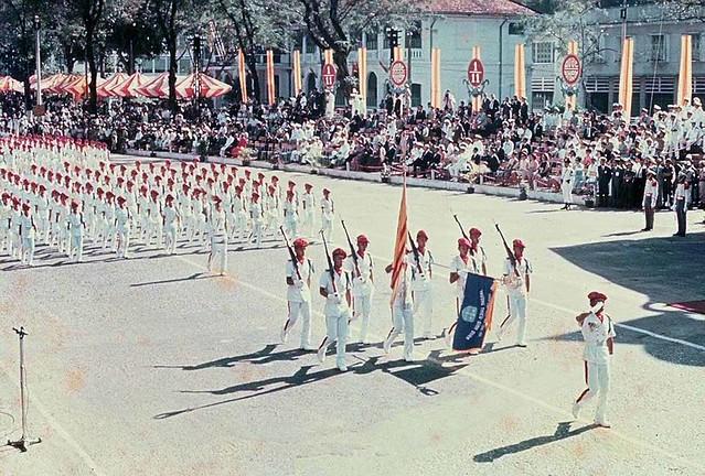 Diễn binh Lễ Quốc Khánh - Trường Thiếu Sinh Quân Việt Nam