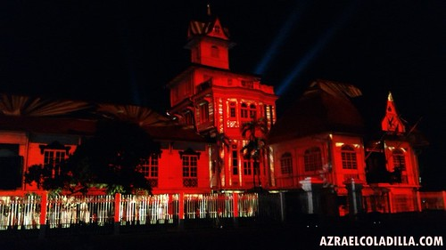 3D mapping video show at Aguinaldo Shrine in Kawit, Cavite in celebration of 117th Philippine Independence Day