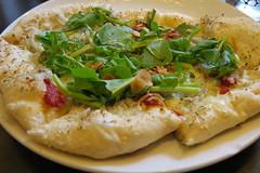 bread(0.0), pizza(0.0), produce(0.0), quesadilla(0.0), tortilla de patatas(0.0), omelette(0.0), meal(1.0), breakfast(1.0), flatbread(1.0), vegetarian food(1.0), baked goods(1.0), food(1.0), dish(1.0), naan(1.0), cuisine(1.0),