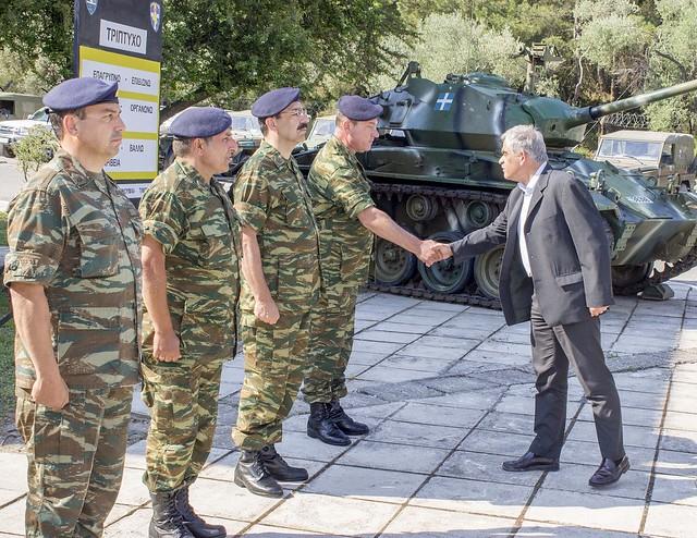 Ολοκλήρωση της περιοδείας του ΥΦΕΘΑ Νίκου Τόσκα στο χώρο ευθύνης της ΑΣΔΕΝ