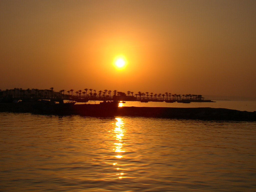 Sunset in Hurghada