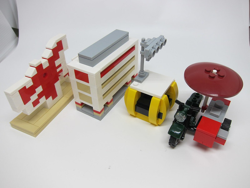 LEGO SG50 Limited Edition Singapore Icons Mini Builds - 2
