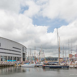 Belfast Marina during Tall Ships Belfast 2015