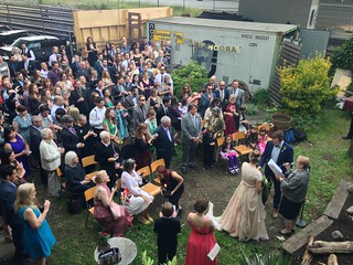 The Wedding.  Vancouver, Canada.