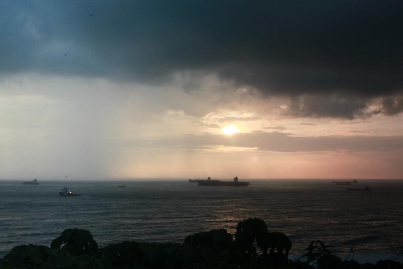 環島-西子灣-夕陽與猴子共舞 (21)