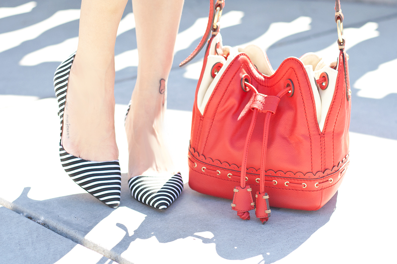 10-stripes-heels-red-bucket-bag-sf-sanfrancisco-fashion-style