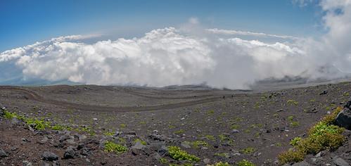 sky panorama mountains japan clouds fuji mtfuji 2015 shizuokaken fujinomiyashi d700 nikkornc24mmf28