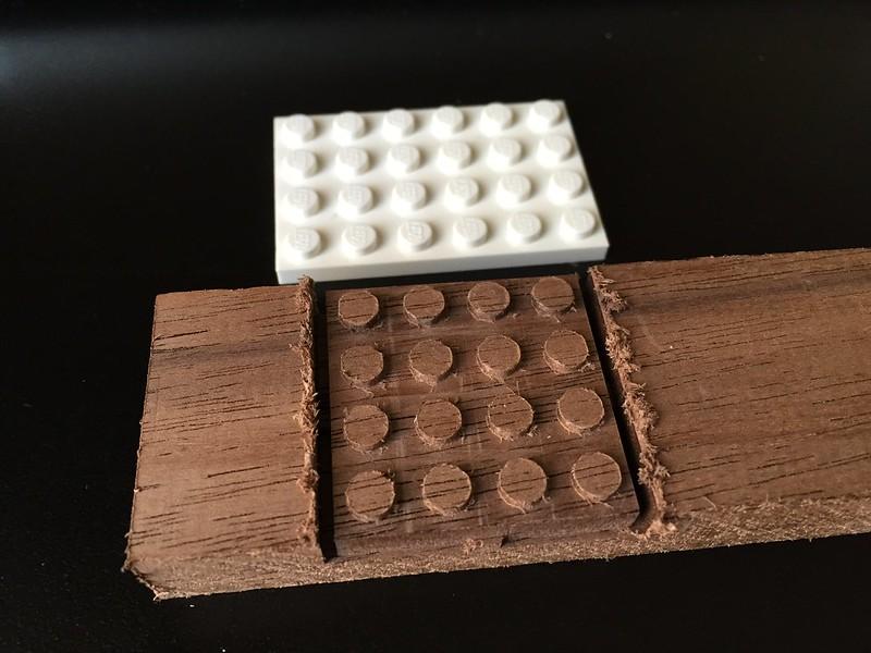 Wooden Lego Experiment