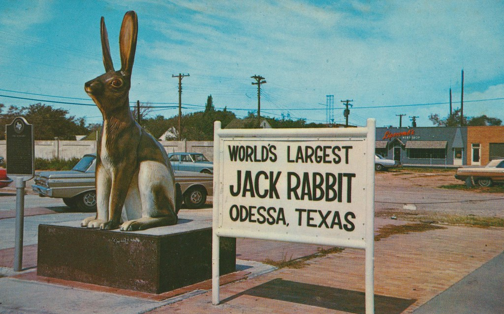 World's Largest Jack Rabbit - Odessa, Texas