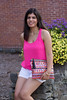 pink tank, white shorts, aztec sequin clutch-5.jpg by LyddieGal