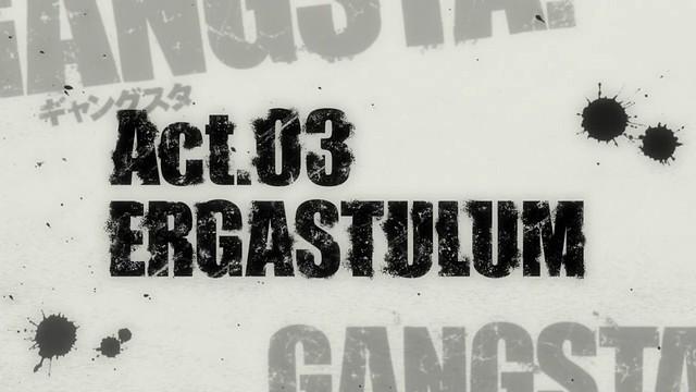 Gangsta ep 3 - image 01