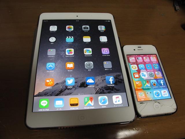 iPad mini 2, iPhone 4s