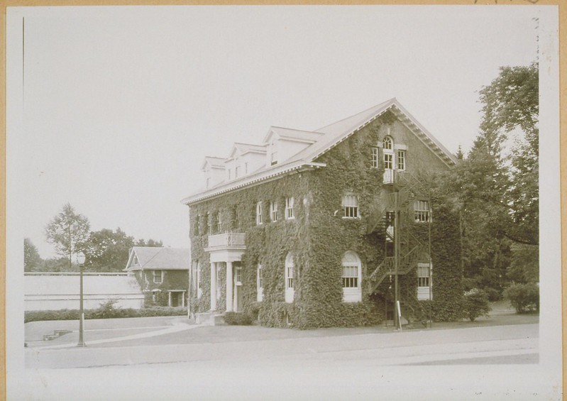 Gulley Hall (1908) And Greenhouse, Connecticut State College