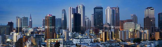 Panorama: Tokyo City, Japan